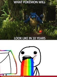 If pokemon will look like that in 10 years I will never grow up and still be like a little child and buy it. :D