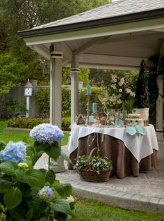 Hydrangea Hill Cottage: Dining Al Fresco II