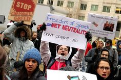 "Nearly 20 State AGs to Sue FCC for Putting 'Corporate Profits Over Consumers': FCC's vote to rip apart net neutrality challenged as blow to consumers and ""everyone who cares about a free and open internet"" Save The Internet, Rip Apart, Internet Providers, Stop Fighting, Political Spectrum, Net Neutrality, Media Bias, Protest Signs"