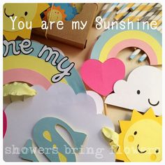 You Are My Sunshine Party Banner - Baby Shower or Birthday Party