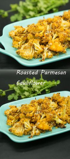 Roasted Parmesan Cauliflower, Roasted Parmesan Cauliflower.  the most incredible cauliflower recipe ever – Roasted Parmesan Crusted Cauliflower is quick, easy and off-the-charts delicious! #recipes  #cauliflower Pea Recipes, Potato Recipes, Chicken Recipes, Parmesan Cauliflower, Cauliflower Recipes, Sides For Pork, Pepper Pasta Recipe, Vegetable Lo Mein, Pork Mince