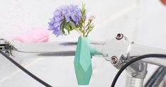 Bike Flower Vase