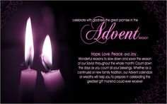 Advent, A Wonderful Tradition!