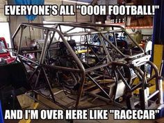 Lets go racing Porsche, Audi, Car Jokes, Car Humor, Triumph Motorcycles, Indian Motorcycles, Kawasaki Motorcycles, Motocross, Bmx