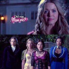 "Pretty Little Liars season 4-- ""Did you miss me?"""