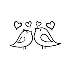 Bird Drawings, Doodle Drawings, Easy Drawings, Hand Embroidery Patterns, Diy Embroidery, Animal Coloring Pages, Colouring Pages, Doodle Paint, Doodle Tattoo