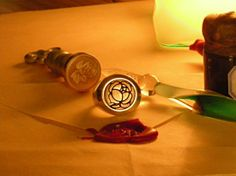 I want this ring so badly! - Utena Duelist ring: Ohtori Academy.  The artist is Russ Sharek.