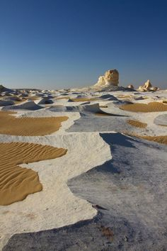 <> The White Desert, Farafra, Egypt