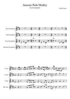 Sheet music made by for 4 parts: Alto Saxophone, Tenor Saxophone, Baritone Saxophone Big Music, Sound Of Music, Music Is Life, Saxophone Tenor, Saxophone Sheet Music, Saxophones, Music Sheets, Music Score, Music Humor