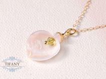 golden bloom - zauberhafte Gold Blüte, 14k Kette | by Tifany-Jewelry
