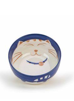 A Loja do Gato Preto   Taça Gato Azul D11cm #alojadogatopreto