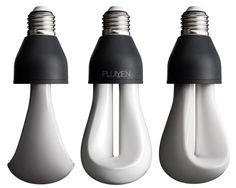 Plumen is raising funds for PLUMEN Designer Low Energy Light Bulb on Kickstarter! The Light Bulb Re-imagined by the Team that Created The PLUMEN The World's First Designer Low Energy Light Bulb. Design Light, Lamp Design, Unique Lighting, Lighting Design, Ampoule Design, Low Energy Light Bulbs, Magic Light, Save Energy, Decoration