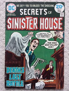 Secrets of the sinister house!