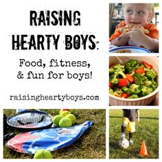 We're celebrating the launch of our newest channel, Raising Hearty Boys!  A space dedicated to providing tips + resources on keeping our boys fit + fed!      We've got a giveaway going on to celebrate!  Click on over!