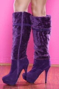 Purple Boots