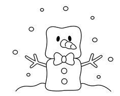 Marshmallow snowman? http://4.bp.blogspot.com