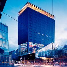 Sofitel Vienna Skyscraper, Multi Story Building, Conference Room, Wall Panelling, Luxury, Architecture, Skyscrapers