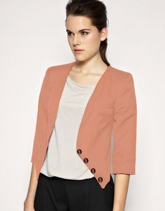 blazer  (different color, great shape and button line)