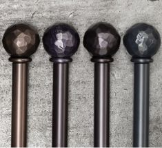 Make it your own with 8 finishes and 24 finials to choose from. our Steel Collection. shown here in Bronzed (Satin) waxes oil rubbed and Flint (Satin) with a Hammered Ball & Collar finial. Metal Curtain Pole, Steel Curtain, Curtain Poles, Contemporary Windows, Drapery Hardware, Custom Curtains, Window Styles, Curtain Designs, Window Treatments