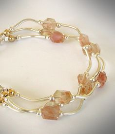 The All-American Gemstone ... Oregon Sunstone Bracelet