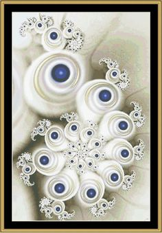 New Fractal Art [NFA-31] - $16.00 : Mystic Stitch Inc, The fine art of counted cross stitch patterns