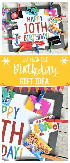 Fun Birthday Gift Idea for 10 Year Old Boys or Girls #birthdaygift #giftideas
