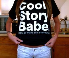 lol i want this shirt.
