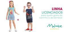 Licenciados Malwee - Divulgação no Site