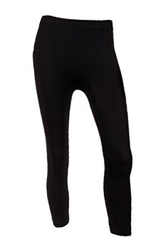 Sofra Womens Capri Calf Length Color LeggingsBlack ** You can find out more details at the link of the image. (This is an affiliate link) #WomensLeggings