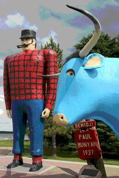 Paul Bunyan | Minnesota Prairie Roots
