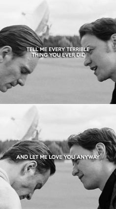Tell me every terrible thing you ever did and let me love you anyway. #marvel