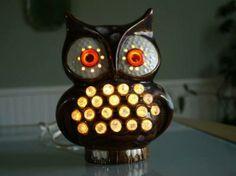 Bagoly lámpa