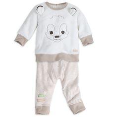 Bambi Faux Sheepskin Knit Set for Baby   Disney Store