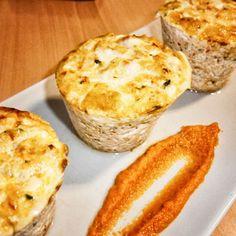 Pastel de pescado sin gluten