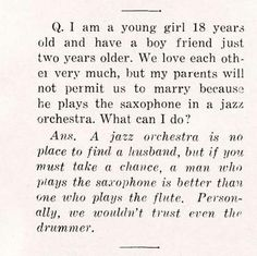 """"""" Question from a 1933 magazine """""""