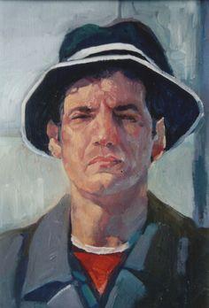 Künstler Riad Albazaz-ölfarbe-60x50cm-2004