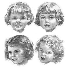 Andrew Loomis. Gallery of drawings