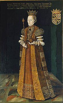 Margaret Leijonhufvud (1516 - 1551). Queen of Sweden from 1536 until her death in 1551. She was the second wife of Gustav I, and had eight children with him. She was deeply mourned by her husband when she died.