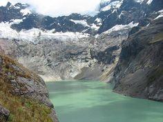volcanes Ecuador. Laguna Amarilla. Altar