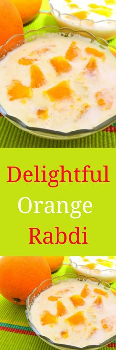 Delightful Orange Rabdi is a simple and easy to make dessert. Rabdi is an Indian classic dessert that can be made on any occasion. Try making this with some twist.
