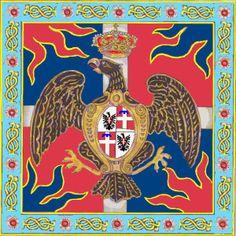 reggimento Piemonte bandiera colonnella cornice effettivamente adottata