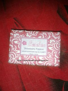 Alive n Kicking: Fuschia Strawberry Passion Handmade Soap Review