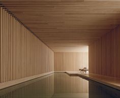 The Hardt Private house by David Chipperfield Private House by David Chipperfield Architects Architecture Decor Design Interior Design Minimal Modern patterns Wood UK pool David Chipperfield Image of Private house by David Chipperfield Indoor Pools, Spa Design, House Design, David Chipperfield Architects, Moderne Pools, Wood Architecture, Architecture Diagrams, Architecture Interiors, Architecture Portfolio