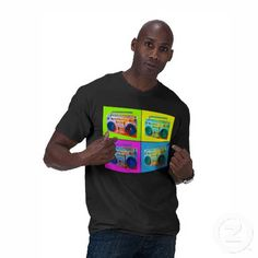 Boomhol Men's TShirt     #fashion #retro #Zazzle