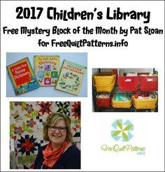 2017: Mystery Children's Library BOM Quilt