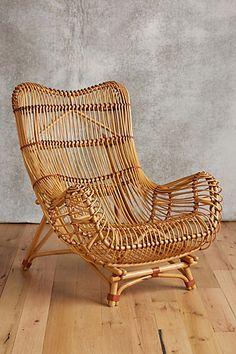 Susila Rattan Chair #anthropologie