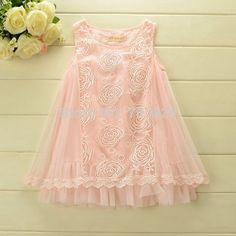 Free shipping 2014 new Sleeveless Kids girls lace ball gowns summer dress infant lace floral summer tutus dress-in Dresses from Apparel & Ac...