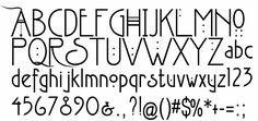 Charles Rennie Mackintosh font....swoon