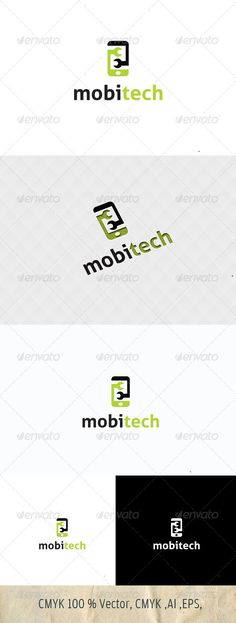 Logo for sale just 29$ Mobile Technology/Services Logo