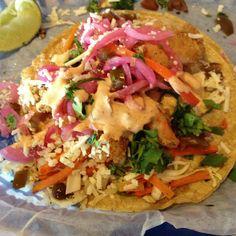 mexican shrimp recipes Baja Fried-Shrimp Tacos Baja Shrimp Tacos @ Torchy's Tacos Best tacos ever! Mexican Shrimp Recipes, Seafood Recipes, Dinner Recipes, Cooking Recipes, Healthy Recipes, Yummy Recipes, Dinner Ideas, Yummy Food, Baja Shrimp Tacos
